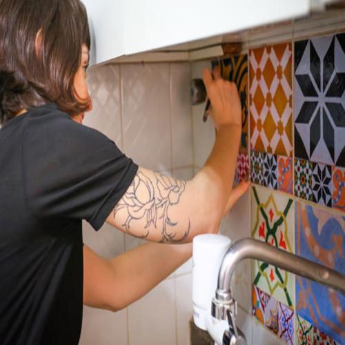 Versier je keuken met je eigen handen
