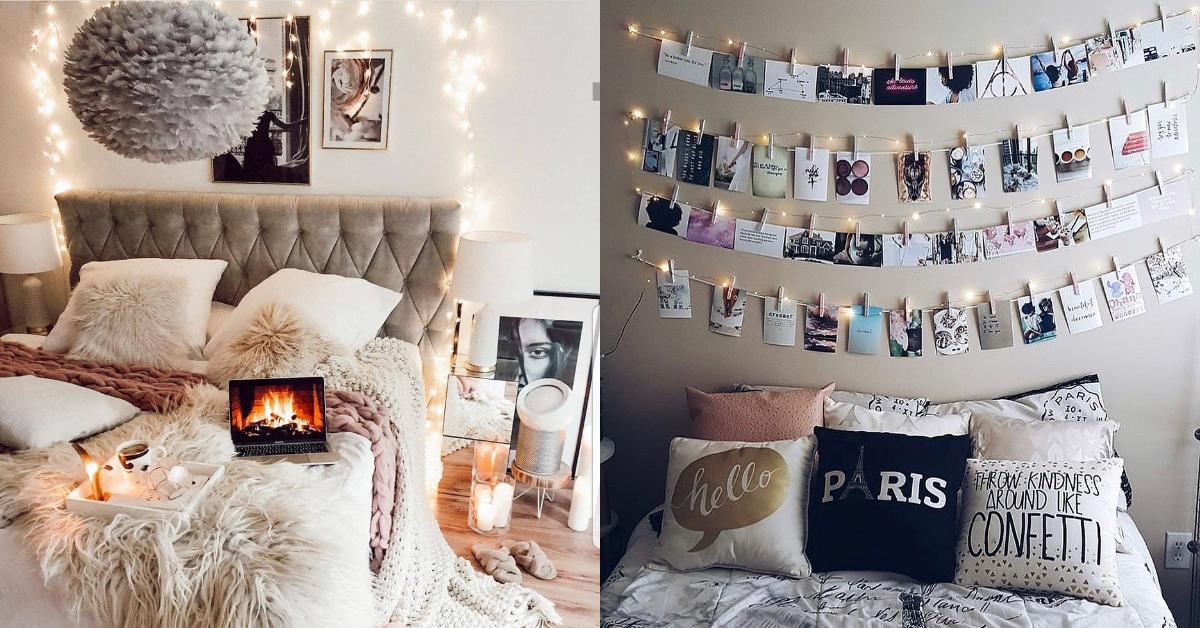 Hoe u uw kamer decoreert. Ideeën om een originele slaapkamer te hebben